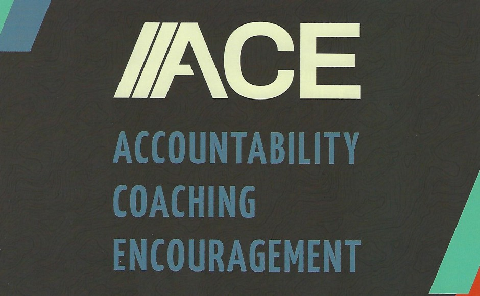 ACE - Accountability, Coaching, Encouragement