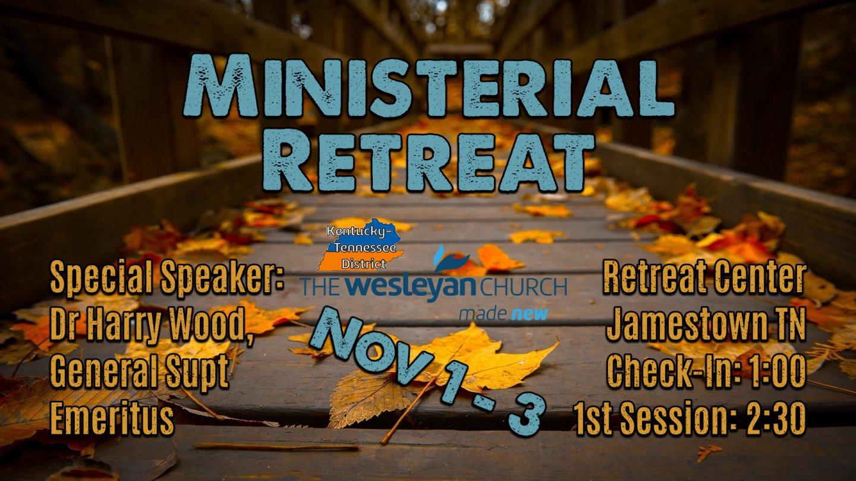 Ministerial Retreat Promo