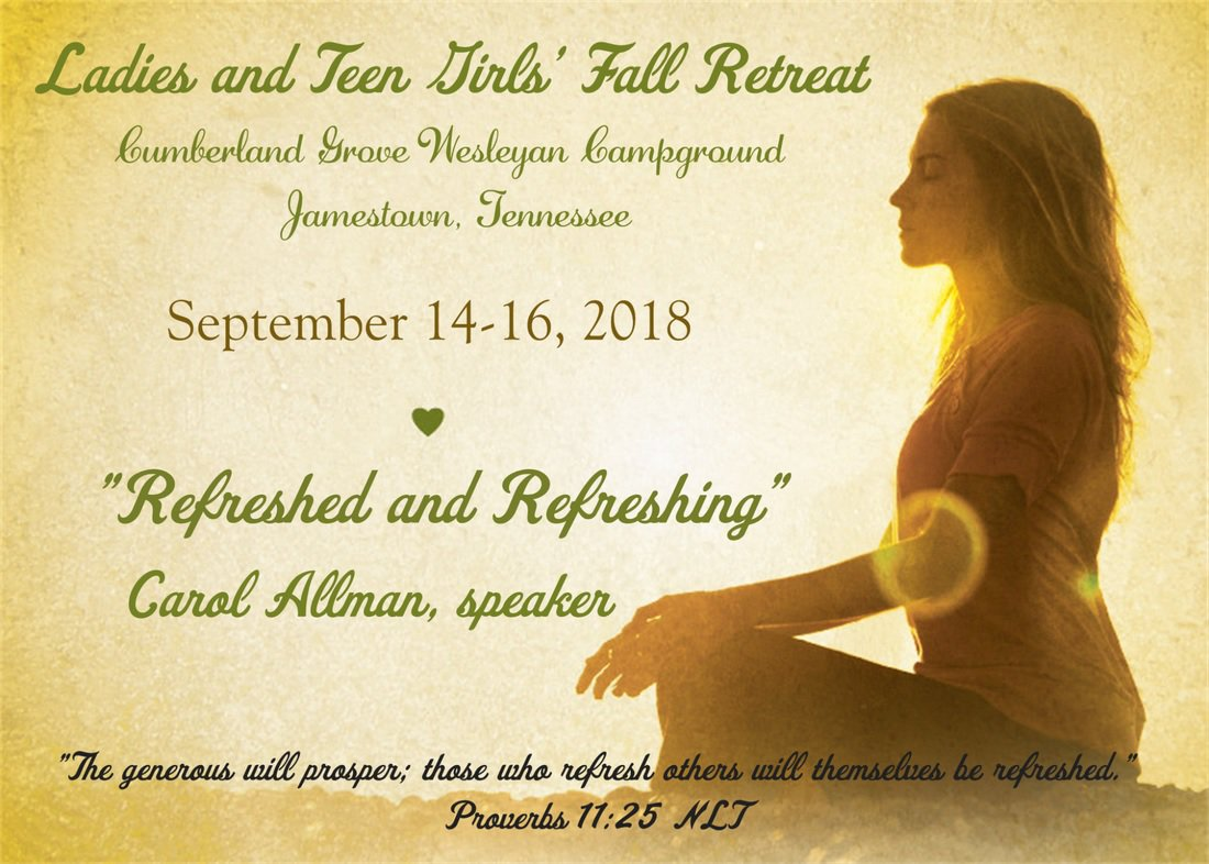 2018 Fall Ladies Retreat