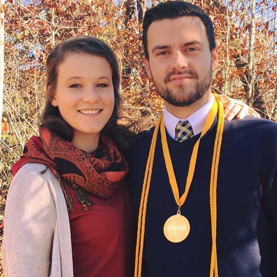 Cass Ramey and Anna Kyle Moore (girlfriend)