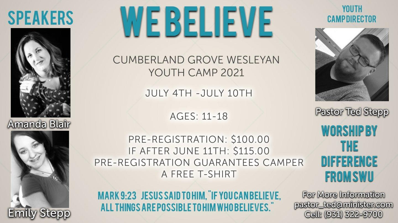 Cumberland Grove Wesleyan Youth Camp