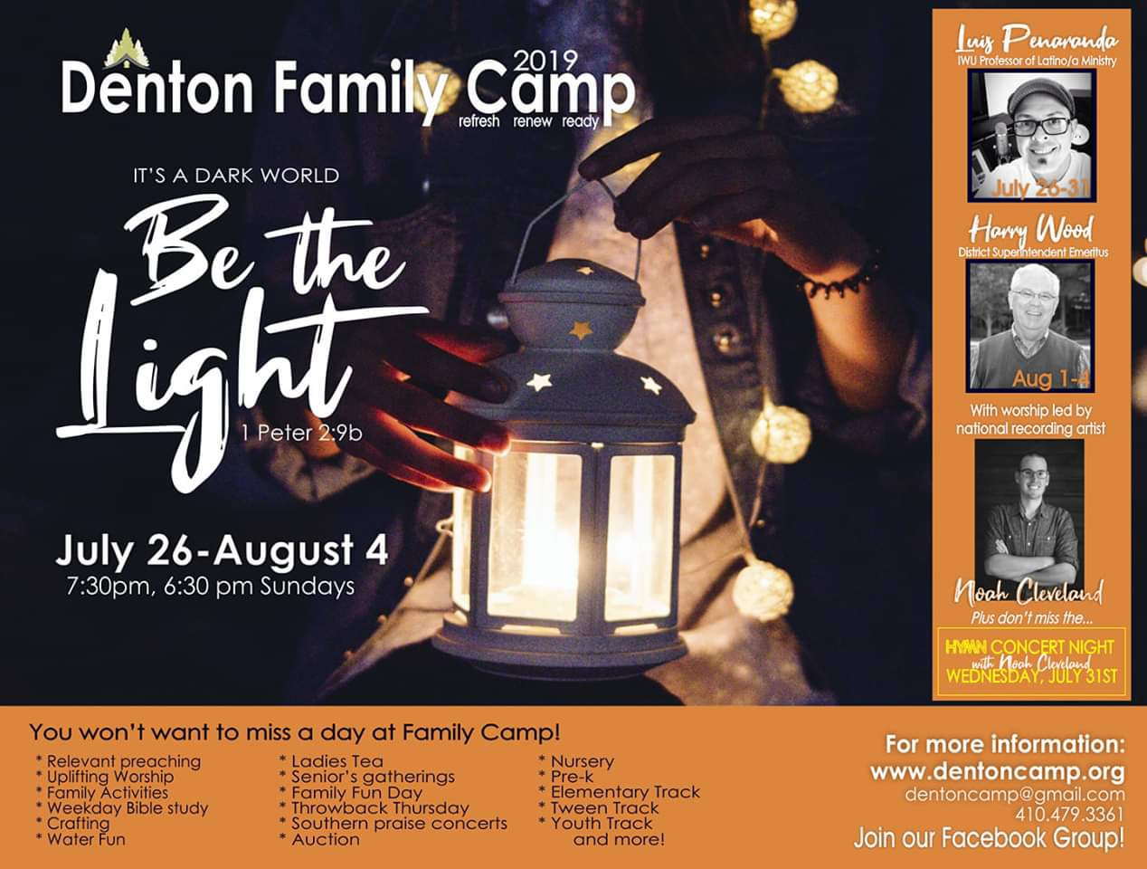 Denton Family Camp 2019