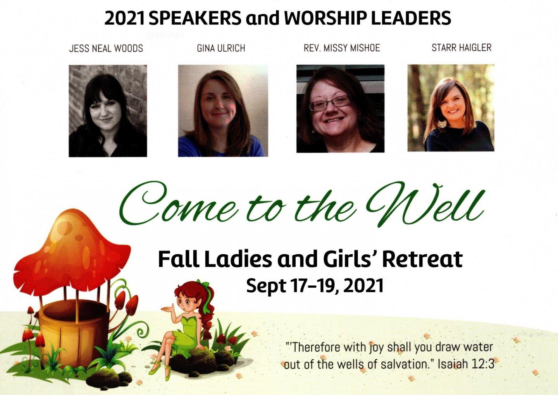 2021 Fall Ladies Retreat
