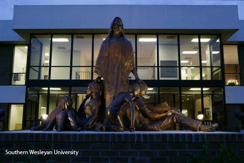 Southern Wesleyan University Scupture