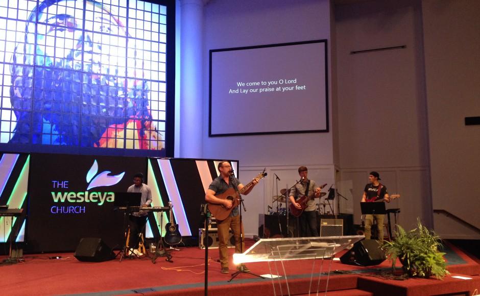 Worship - Thanks Matt Holley!