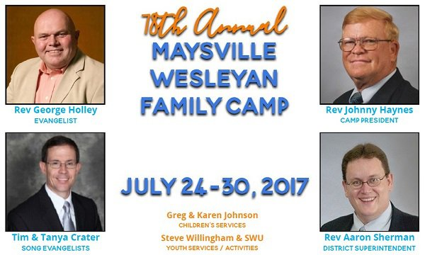 Maysville Family Camp 2017