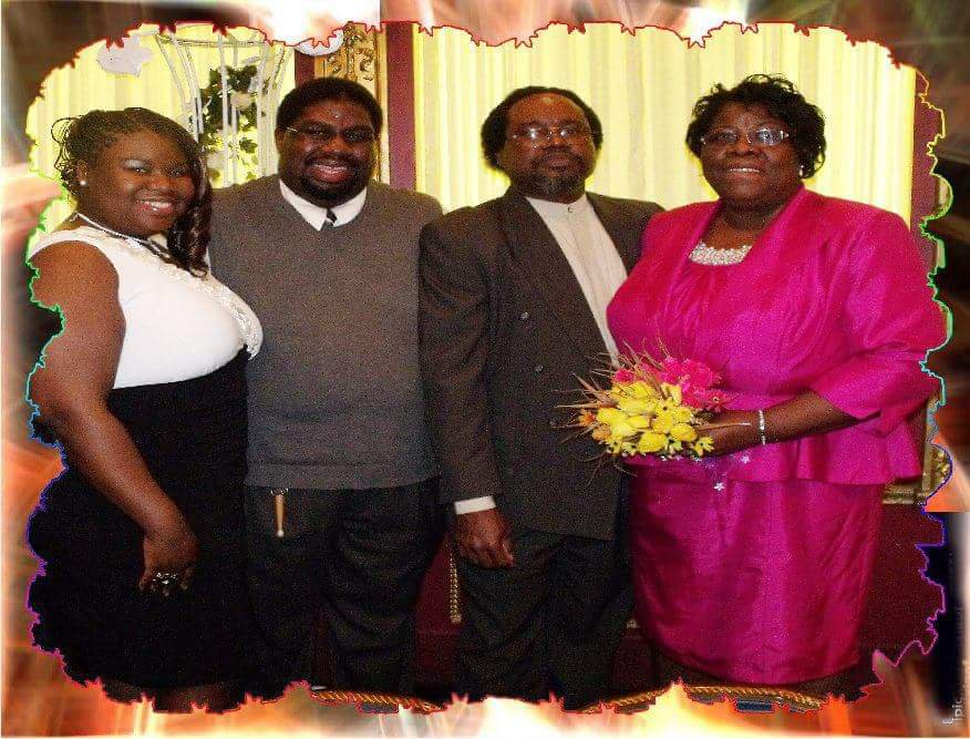 Pastor Lynette Thomas and Family