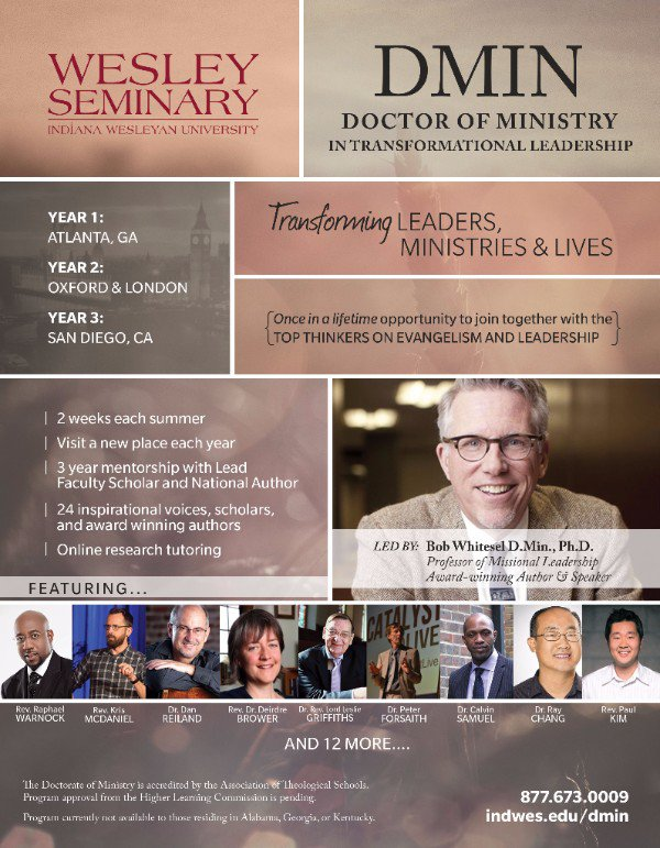 Doctor of Ministry in Transitional Leadership