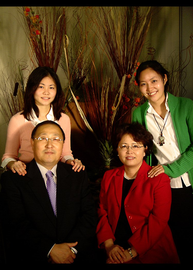 Dr. Kye Soo Ahn and Family